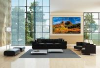 Профессиональный тонкошовный LCD дисплей Sharp PN-V701