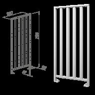 Oxgard ограждения полноростовые нержавеющая сталь ВЗР2443.01-01