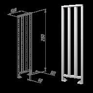 Oxgard ограждения полноростовые нержавеющая сталь ВЗР2443.01-03