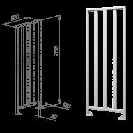 Oxgard ограждения полноростовые нержавеющая сталь ВЗР2443.01